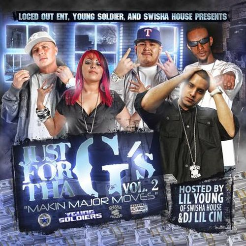 """Various – Just For Tha G's Vol. 2 """"Makin Major Moves"""""""