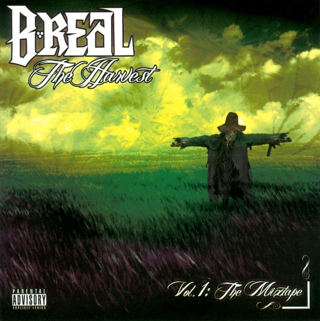 B-Real - The Harvest Vol.1 The Mixtape (Front)