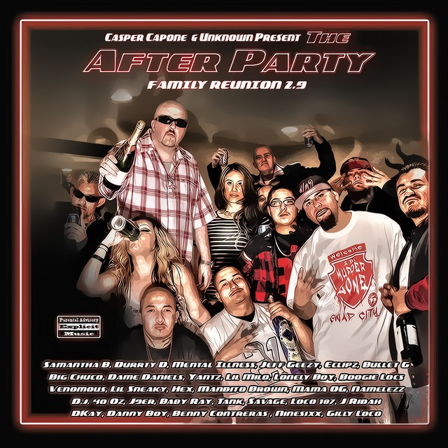 Casper Capone & Unknown – The After Party