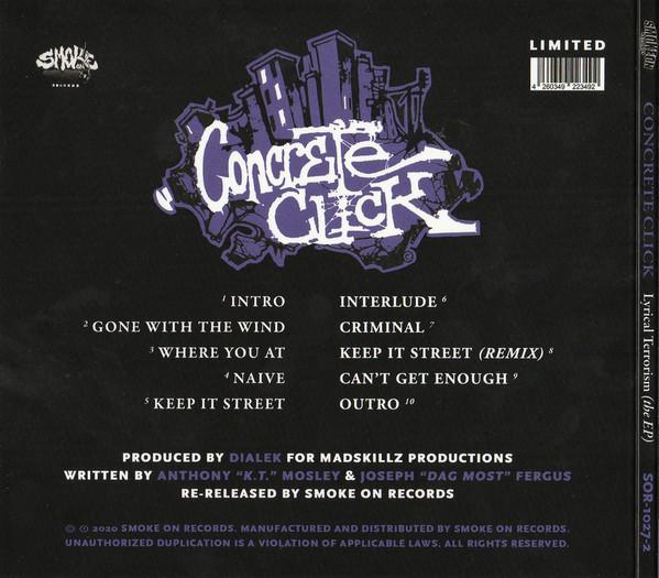 Concrete Click - Lyrical Terrorism (The EP) [Back]