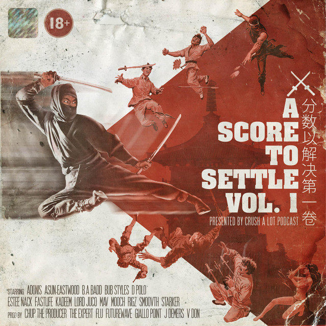 Crush A Lot Podcast Presents – A Score To Settle, Vol. 1