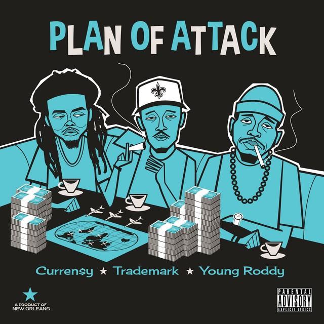 Curren$y, Trademark Da Skydiver & Young Roddy – Plan Of Attack