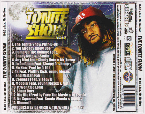 DJ Fresh & D-Lo - The Tonite Show With D-Lo (Back)