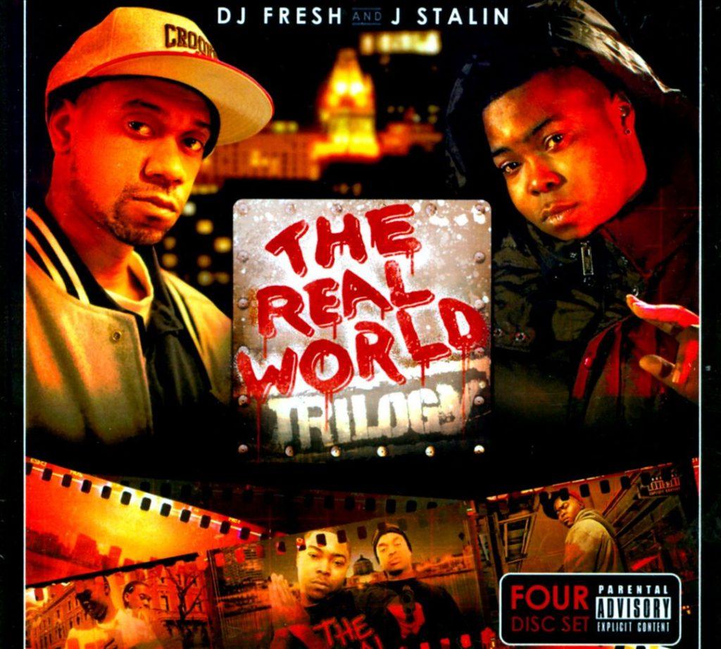 DJ Fresh & J. Stalin - The Real World Trilogy (Front)