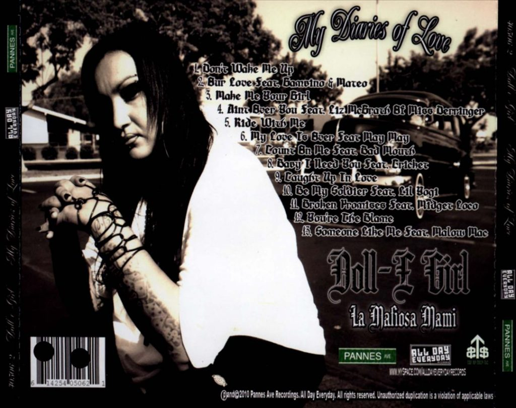 Doll-e Girl - My Diaries Of Love (Back)
