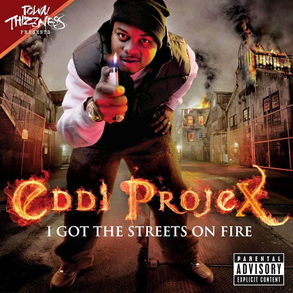 Eddi Projex - I Got The Streets On Fire (Front)