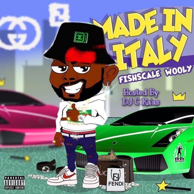 Fishscale Wooly – Made Italy