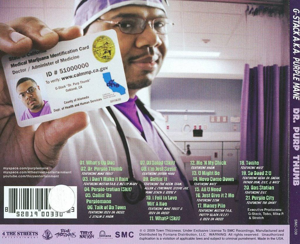 G-Stack - Dr. Purp Thumb (Back)