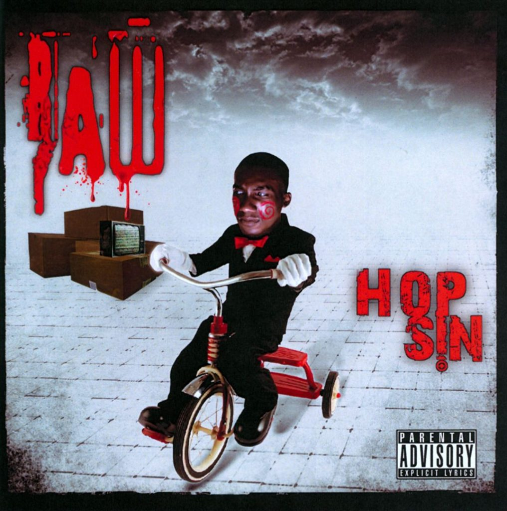 Hopsin - Raw (Front)