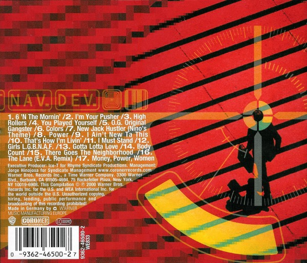 Ice-T - Greatest Hits The Evidence (Back)