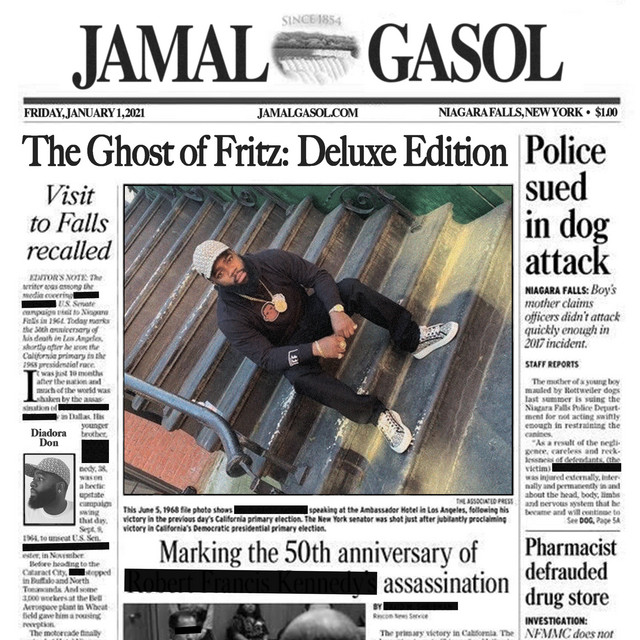 Jamal Gasol – The Ghost Of Fritz (Deluxe Edition)
