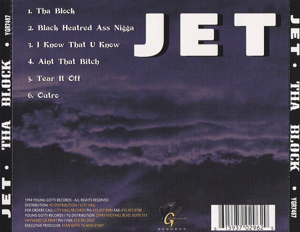 Jet - Tha Block (Back)