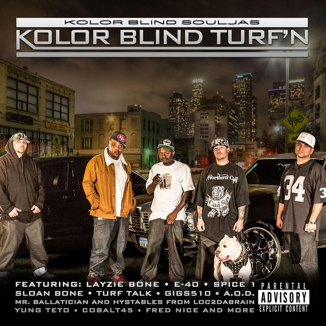 Kolor Blind Souljas – Kolor Blind Turf'n