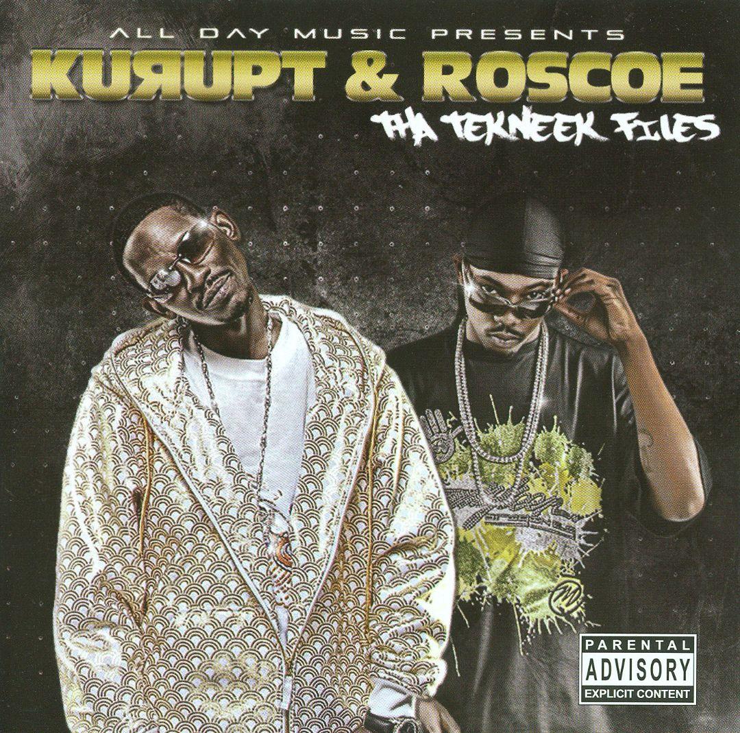 Kurupt & Roscoe - Tha Tekneek Files (Front)