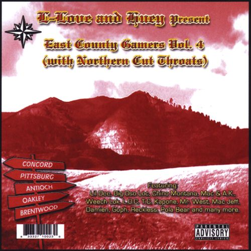 L-Love & Huey Present - East County Gamers, Vol.4 With Northern Cut Throats