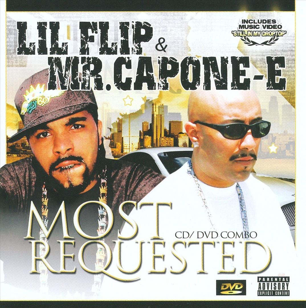 Lil' Flip & Mr. Capone-E - Most Requested (Front)