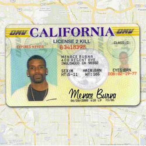 Menace Burna - License 2 Kill