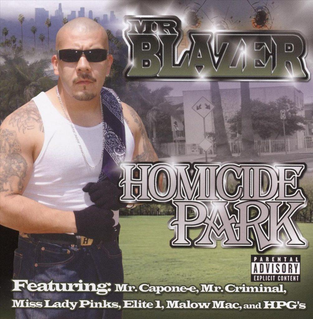 Mr. Blazer - Homicide Park (Front)