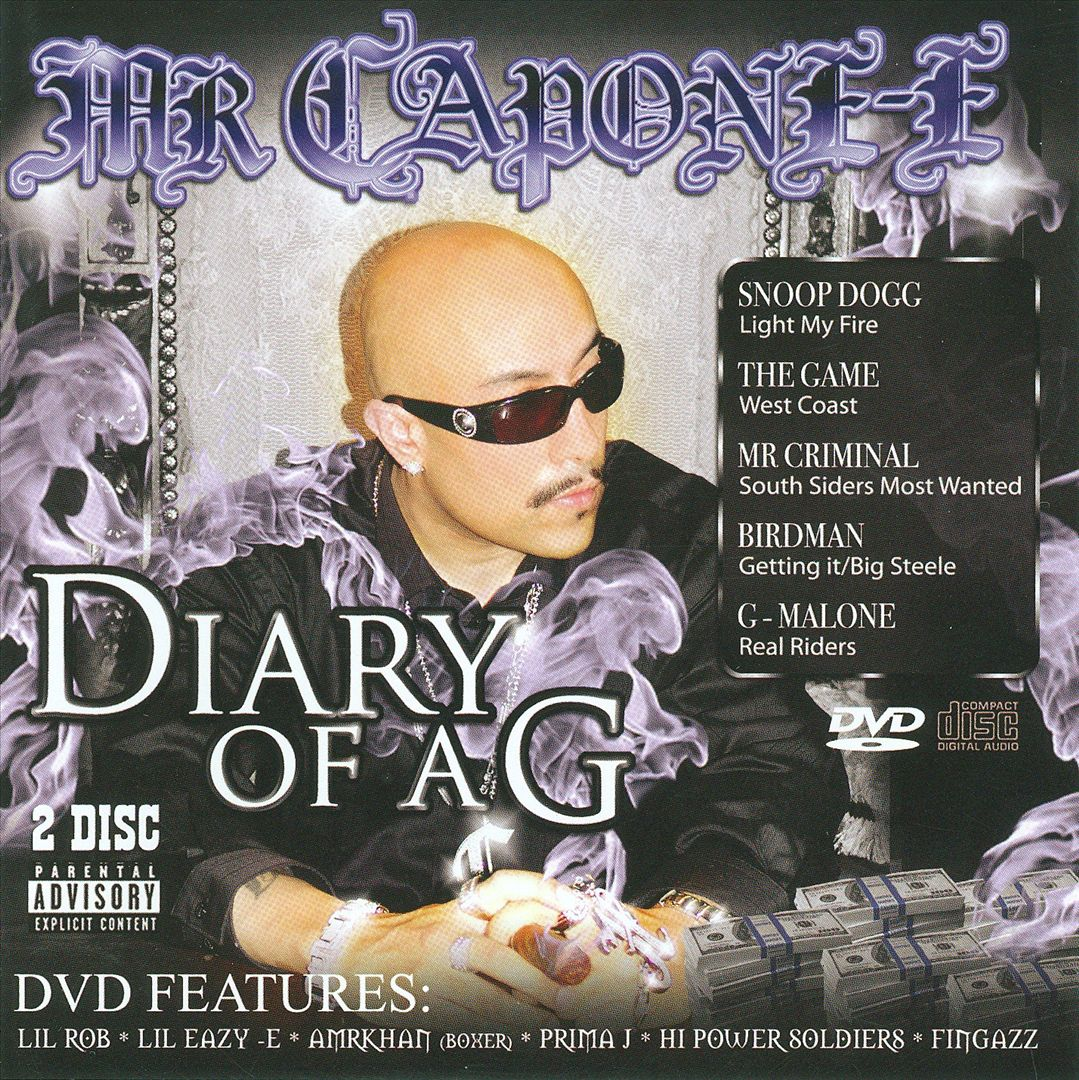 Mr. Capone-E - Diary Of A G (Front)