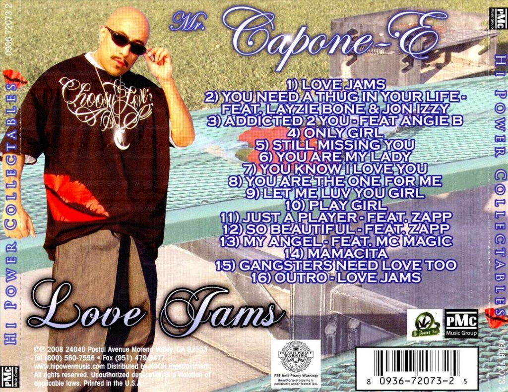 Mr. Capone-E - Love Jams (Back)
