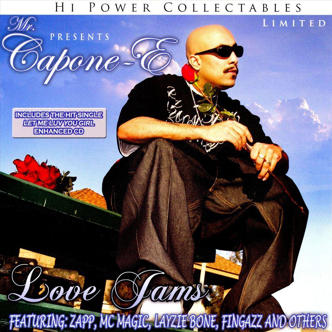 Mr. Capone-E - Love Jams (Front)