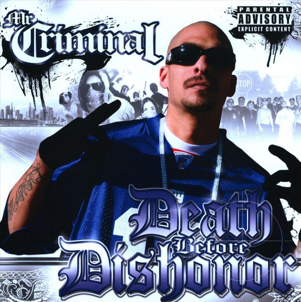 Mr. Criminal - Death Before Dishonor (Front)