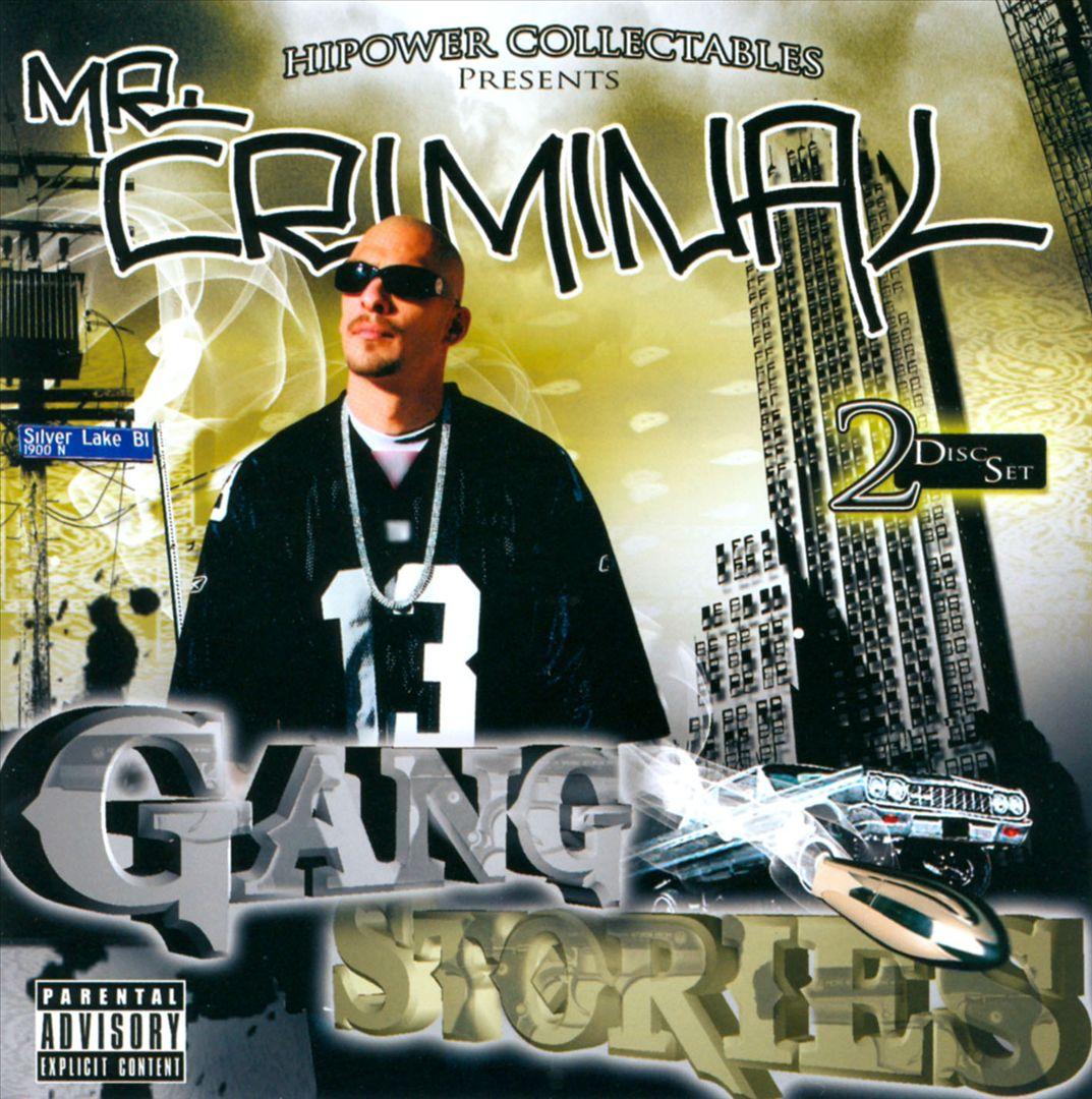Mr. Criminal - Gang Stories (Front)