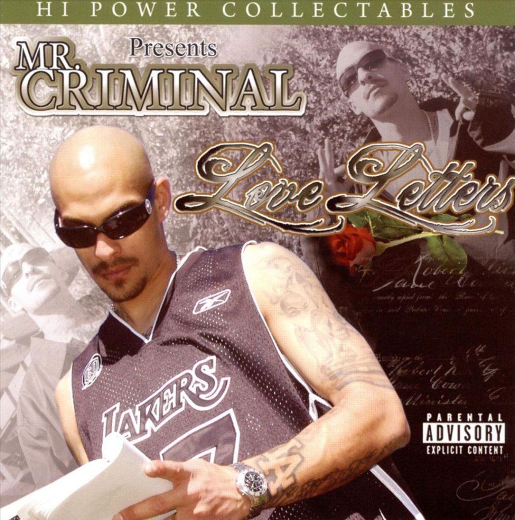 Mr. Criminal - Love Letters (Front)
