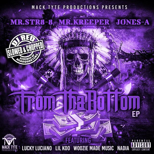 Mr.Str8-8, Mr.Kreeper & Jones-A – From Tha Bottom (Slowed & Chopped) – EP