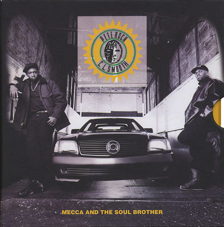 Pete Rock & CL Smooth - Mecca And The Soul Brother (Front)