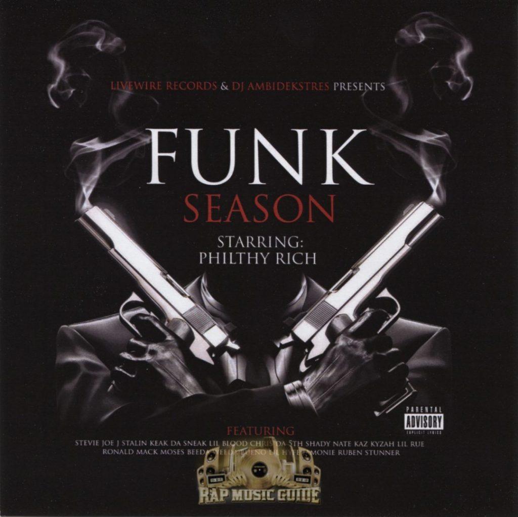 Philthy Rich - Funk Season (Front)