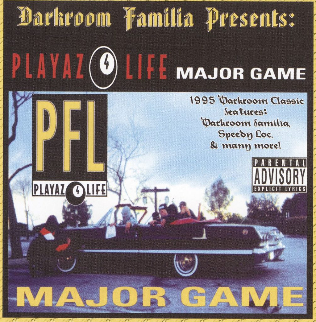 Playaz 4 Life - Major Game (Front)