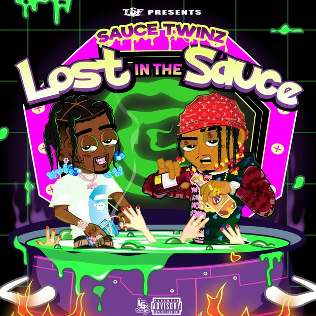 Sauce Twinz, Sauce Walka & Sancho Saucy – Lost In The Sauce