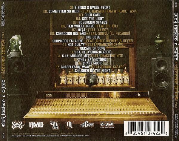 Sick Symphonies Presents Sick Jacken & Cynic - The Terror Tapes Vol. 1 (Back)