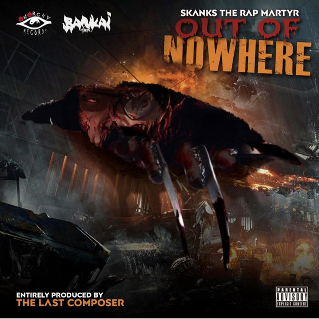 Skanks The Rap Martyr – Out Of Nowhere