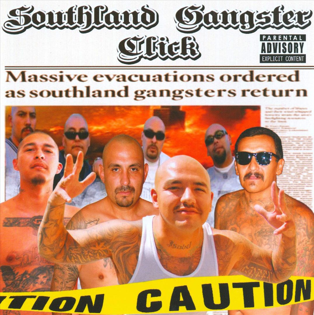 Southland Gangster Click - Caution (Front)