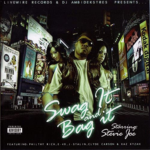 Stevie Joe - Swag It And Bag It