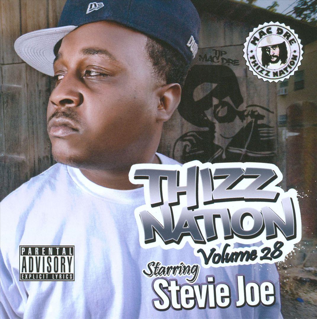 Stevie Joe - Thizz Nation, Vol. 28 Starring Stevie Joe.jpg (Front)