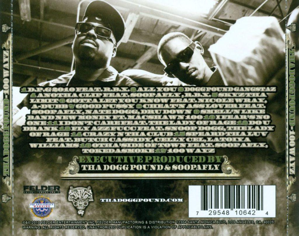 Tha Dogg Pound - 100 Wayz (Back)
