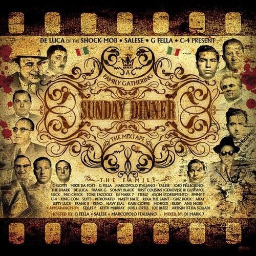Various - De Luca Of The Shock Mob & C-4 Present Sunday Dinner The Mixtape