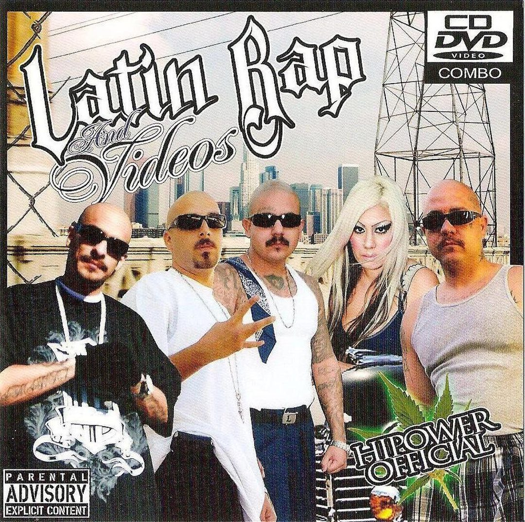 Various - Latin Rap And Videos (Front)