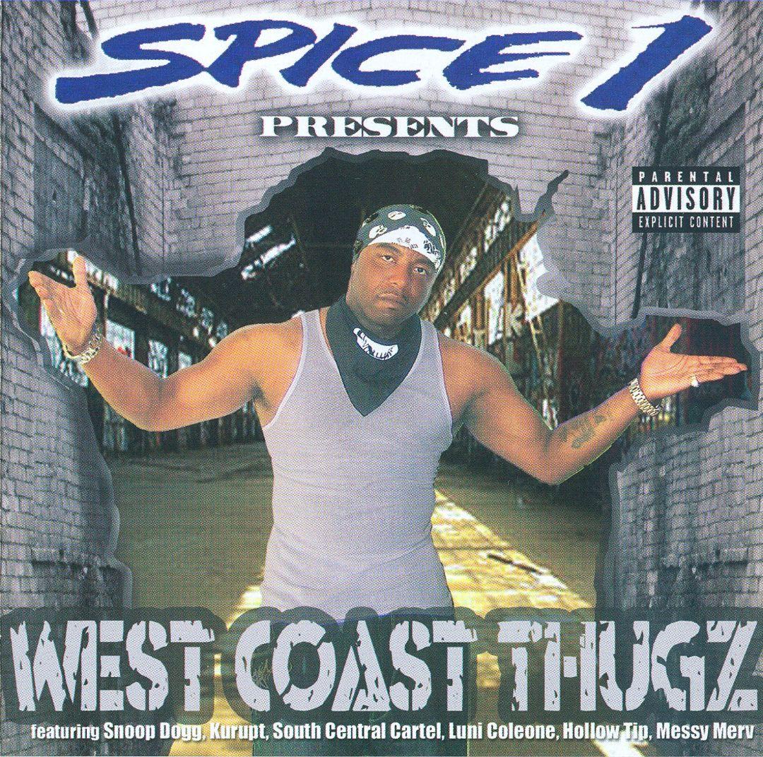 Various - Spice 1 Presents West Coast Thugz (Front)