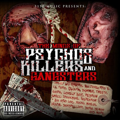 Various – The Minds Of Psychos, Killers And Gangsters