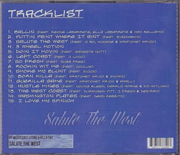 Westcoast Stone & Killa Tay - Salute The West (Back)