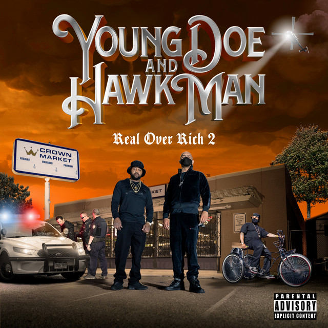 Young Doe & Hawk Man - Real Over Rich 2